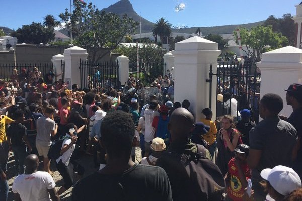 Where to watch #FeesMustFall Parliament occupation live