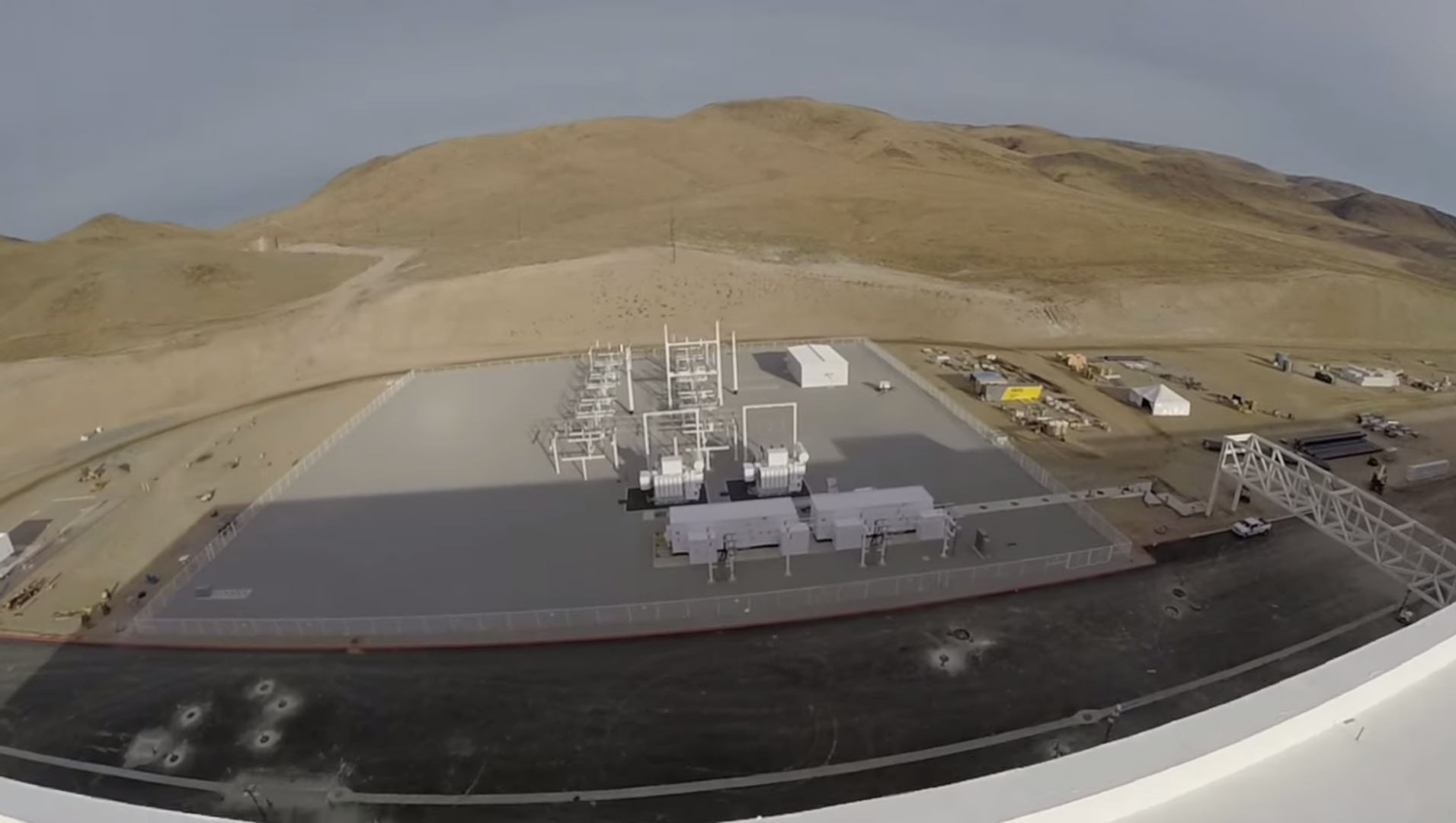 First look at Elon Musk's Tesla Gigafactory