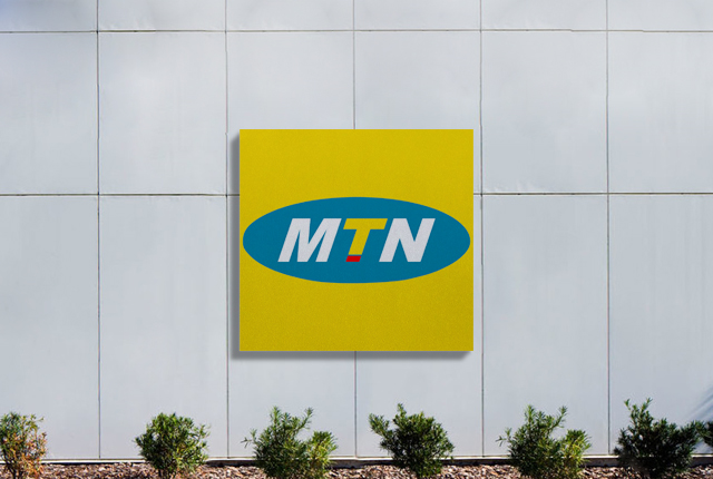 MTN logo on building