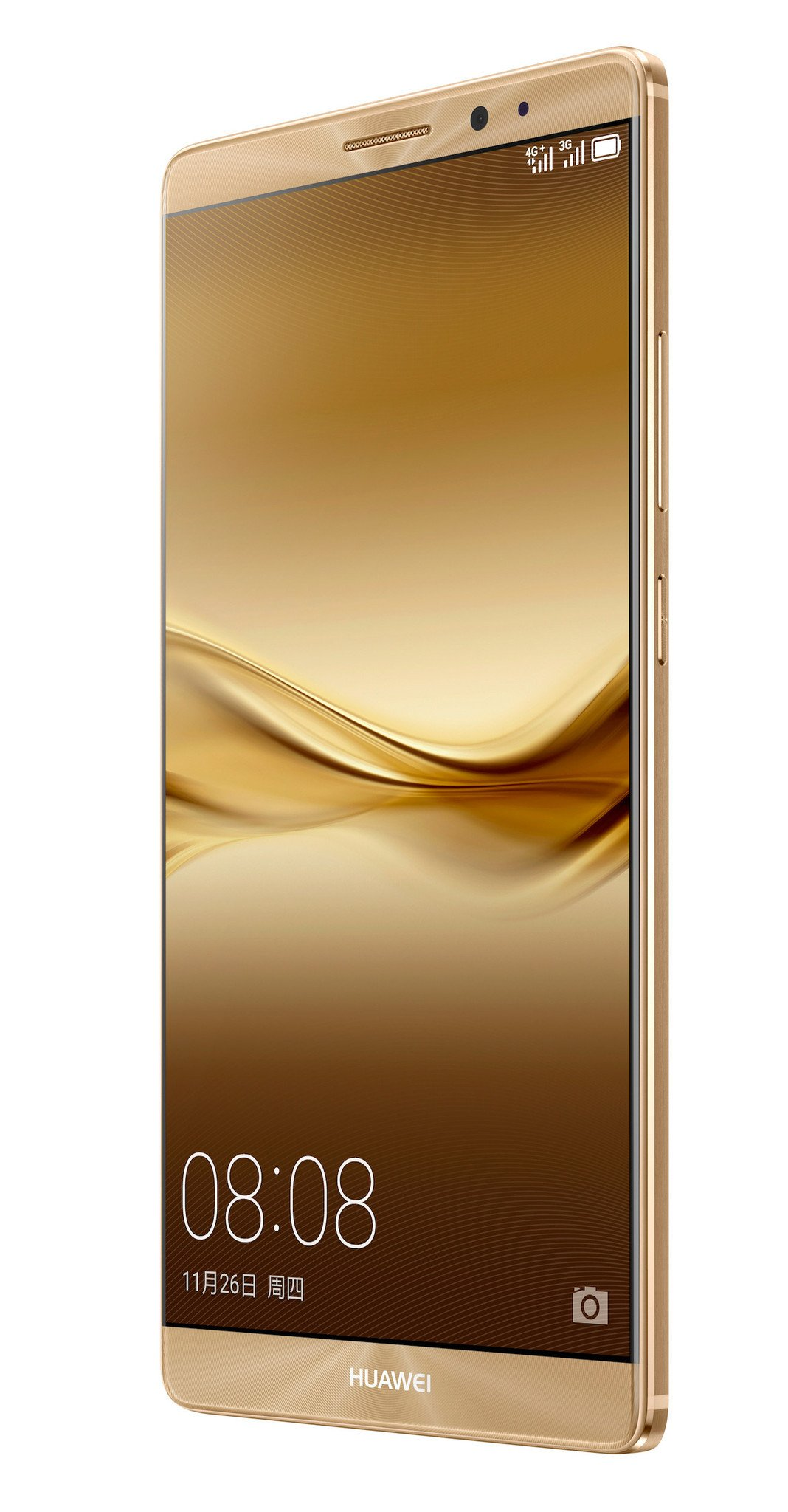 Huawei Mate 8 front right angle