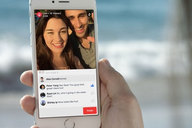 Facebook Live Video now in South Africa