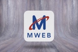 Mweb floating logo