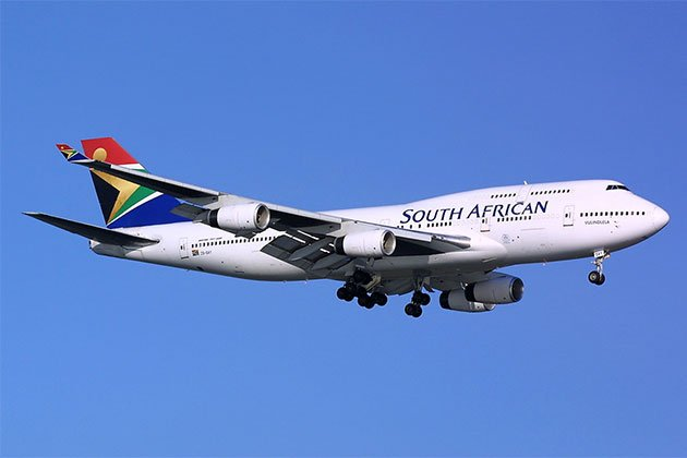 SAA offers free flight changes due to coronavirus