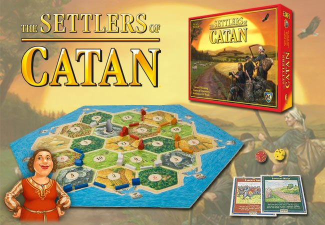 Boardgame - The Settlers of Catan