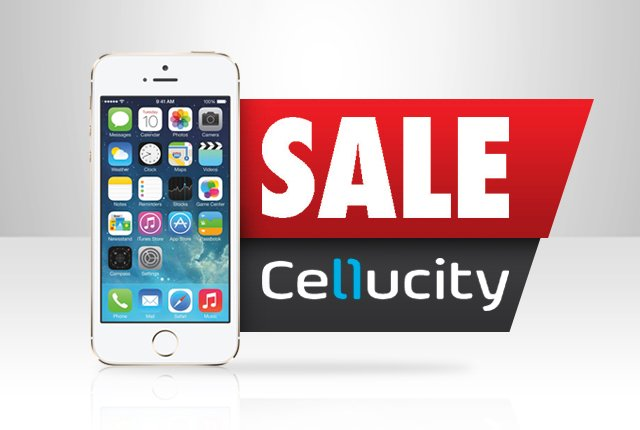 Get a free iPhone at Cellucity