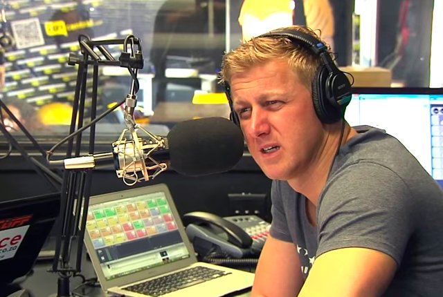 Gareth Cliff Talking