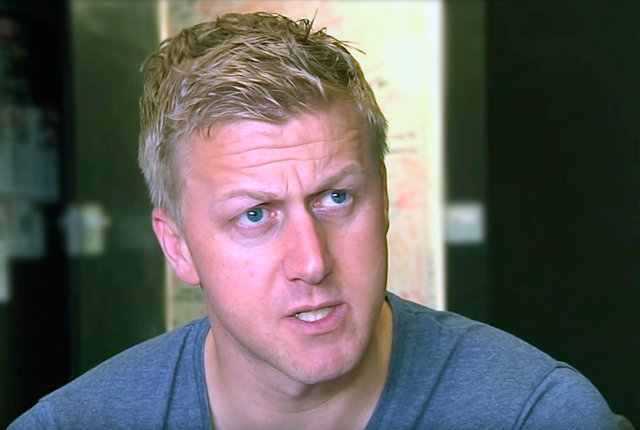 Gareth Cliff interview face