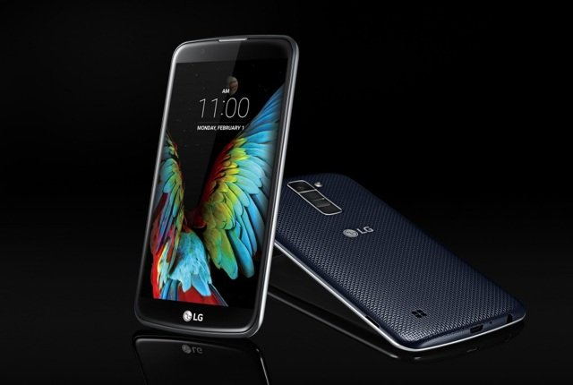 LG K7 and K10 smartphones revealed