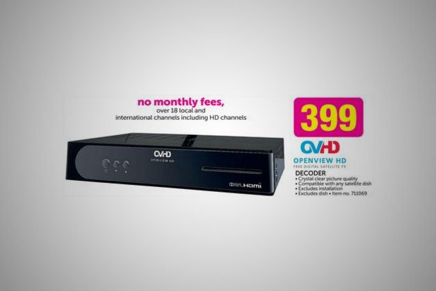 Openview HD decoder
