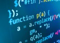 Programmer software developer programming code