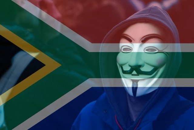 The South African government passwords cracked in Anonymous database hack