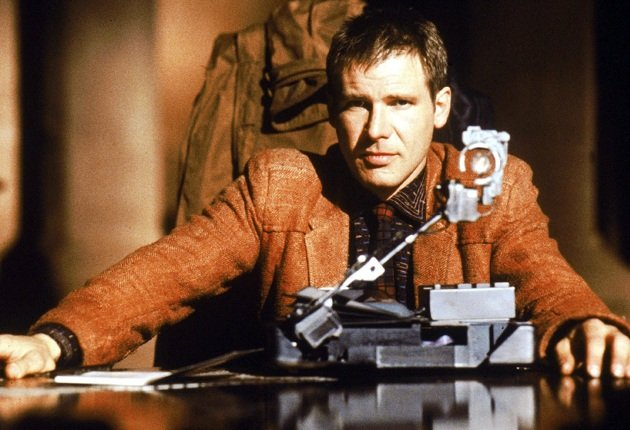 Blade Runner Harrison Ford Voight-Kampf test