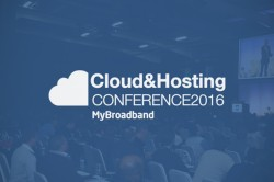 Cloud and Hosting Conference 2016 logo blue