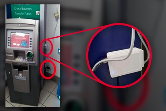 How ATM card skimmers work
