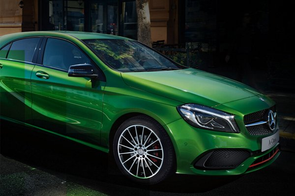 Win a new A-Class for a year – #ALevelUp