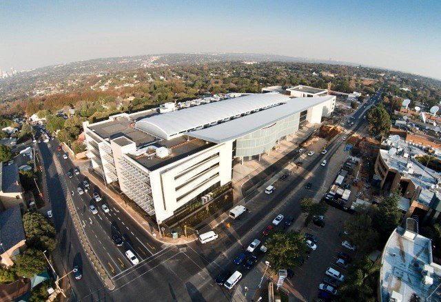 MultiChoice City aerial view