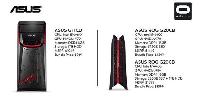Oculus-Ready Asus