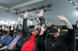 Samsung 4D GearVR theatre at MWC 2016