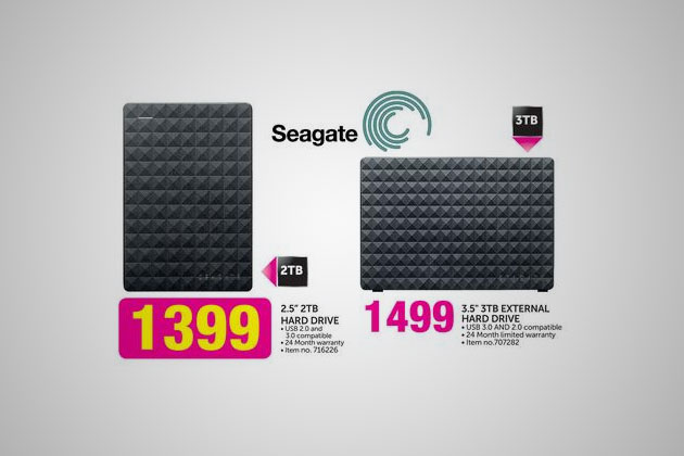 Seagate portable HDD