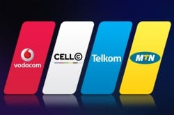 Mobile Network Operators Telkom Vodacom MTN Cell C logos new