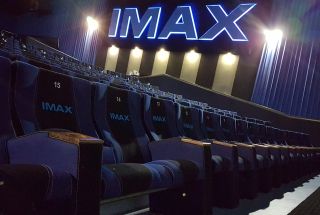 Inside the IMAX cinema at Mall of Africa – photos