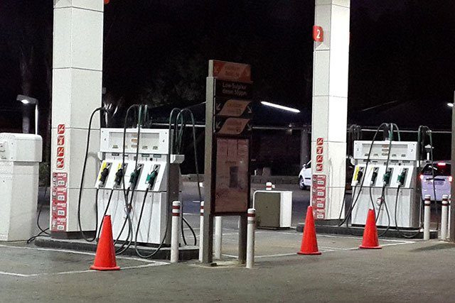 Petrol pumps run dry in South Africa
