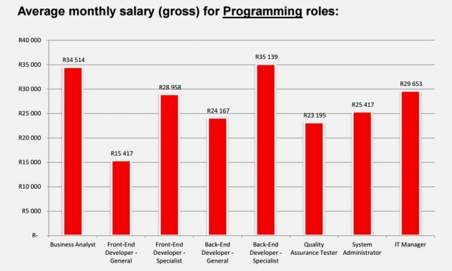 Business Development Manager Salary >> How much programmers and designers get paid in South Africa