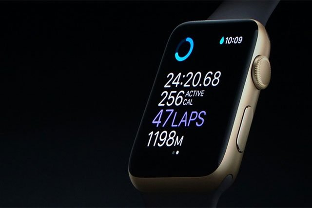 New Apple Watch Is Waterproof, Has GPS