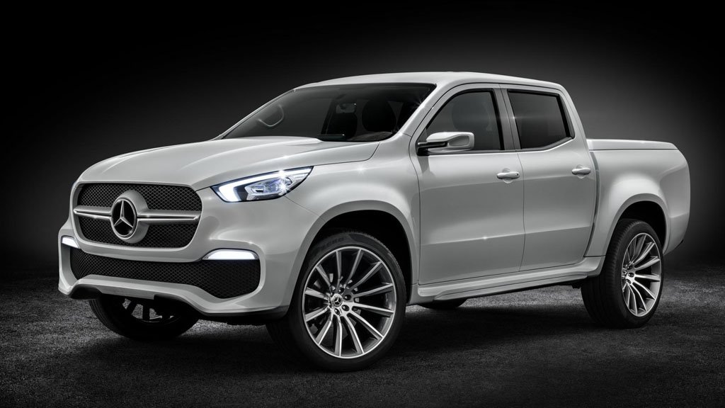 Mercedes Benz Launches Double Cab Bakkie Coming To South