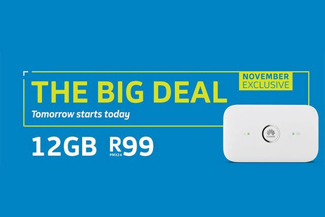 Telkom's Big Deal – 12GB for R99
