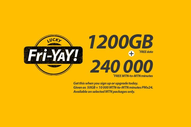 MTN free 50GB and 10,000 minutes per month deal is back
