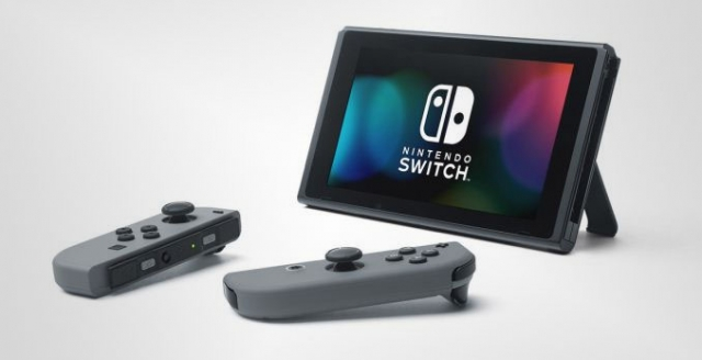 Nintendo Switch detached