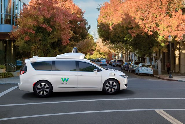 Waymo Chrysler Pacifica