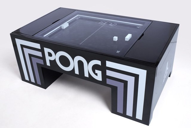 Real-life Pong table meets funding goal