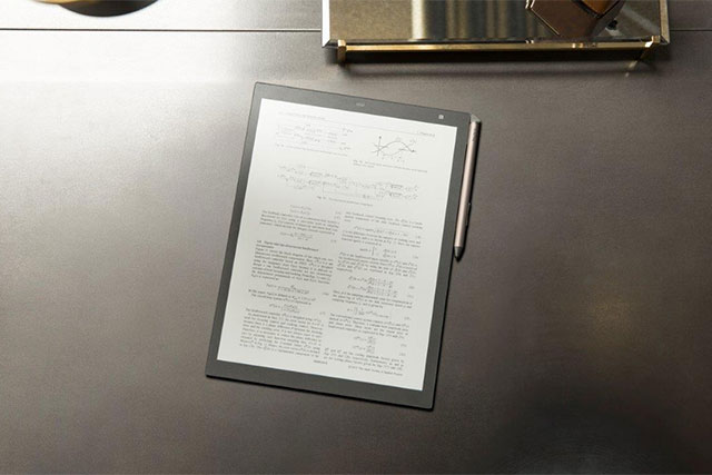 Sony's Digital Paper tablet – Price and launch date