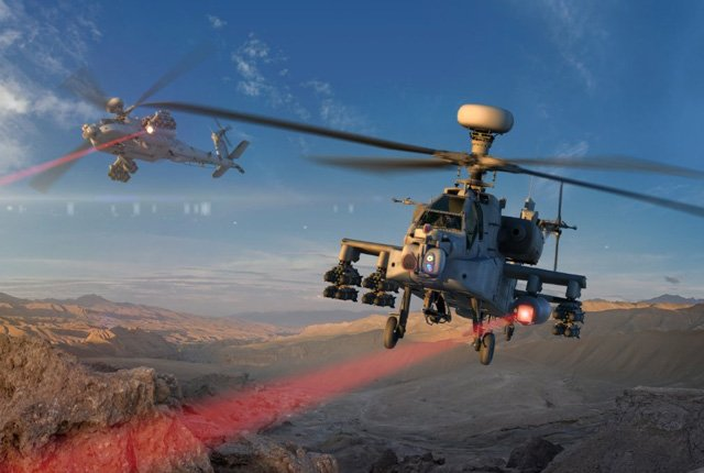US military working on laser-equipped attack helicopter