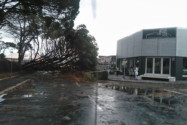 #CapeStorm – Photos show damage in Cape Town