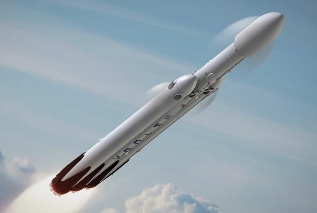 SpaceX sets launch date for Falcon Heavy