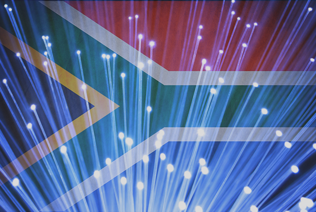 Nearly 500,000 South African homes are connected to fibre