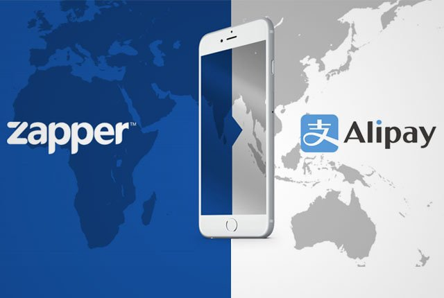Zapper partners with Alipay in South Africa