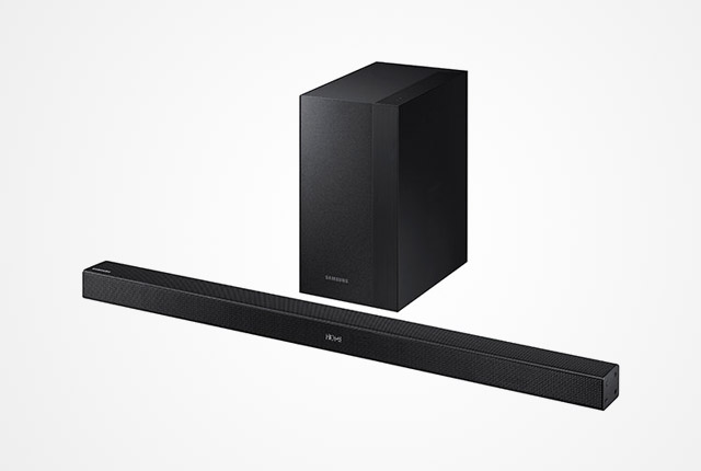 Why a 2.2-channel soundbar is not required to have two external subwoofers