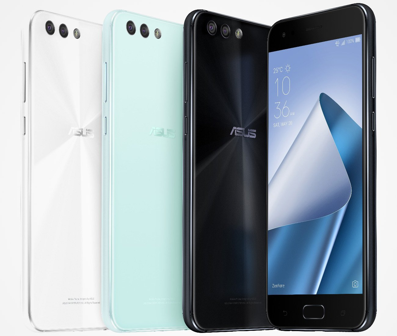 Asus ZenFone 4 line-up leaked in press renders