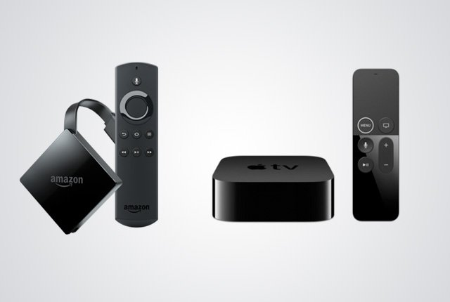 Apple TV 4K vs Amazon Fire TV