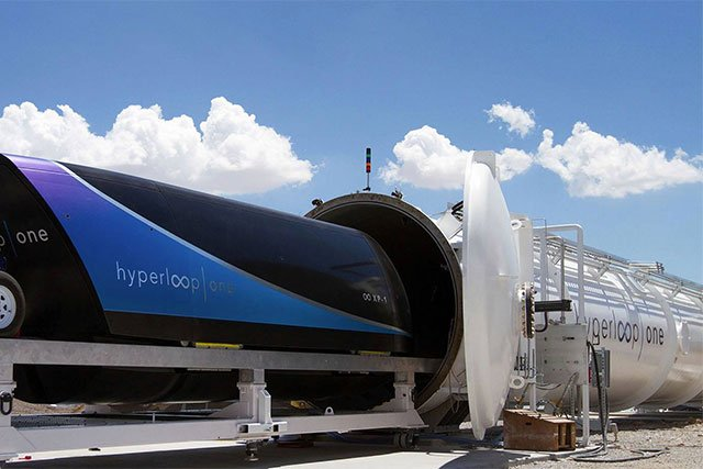 Hyperloop One unveils 10 potential routes