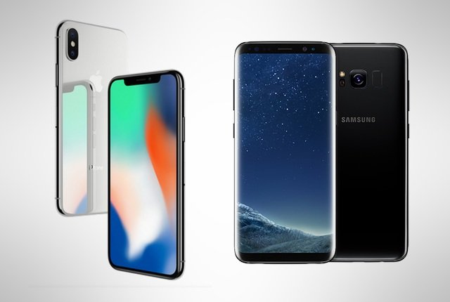 iPhone X vs Samsung Galaxy S8 – Battle of the titans