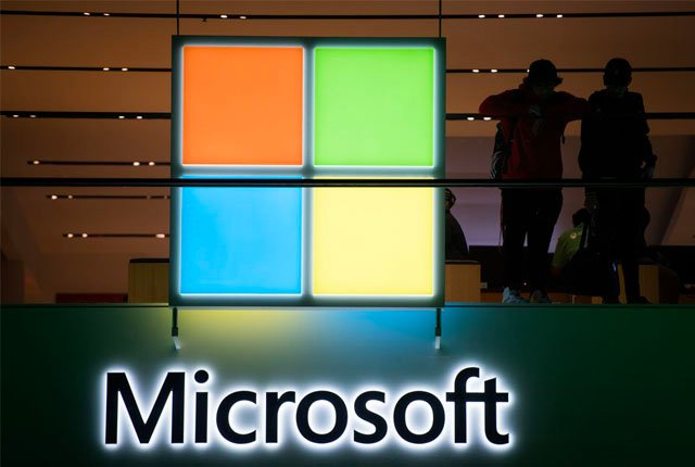 Microsoft sales rise due to cloud demand