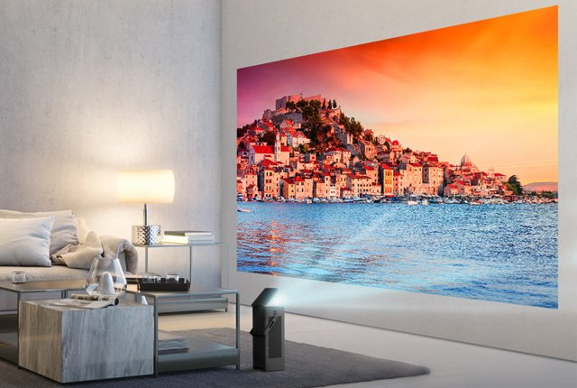 LG 4K HDR projector