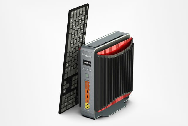 Compulab launches Kickstarter campaign for fanless gaming PC