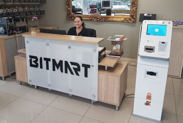 Bitmart cryptocurrency ATM
