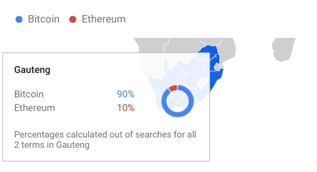 Google Trends Bitcoin vs Ethereum cropped
